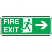 Safe Safety Sign - Fire Exit Door 110
